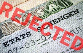 отказ за виза